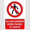 AT1408 - Rayların Üzerinden Geçmek Tehlikeli ve Yasaktır