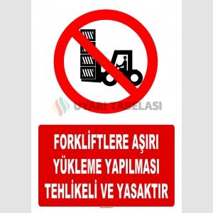 AT 1423 - Forkliftlere  Aşırı Yükleme Yapılması Tehlikeli ve Yasaktır