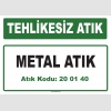 A 200140-1 - Metal Atık