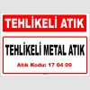 A 170409-1 - Tehlikeli Metal Atık