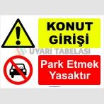 YT7020 - Konut girişi, park etmek yasaktır