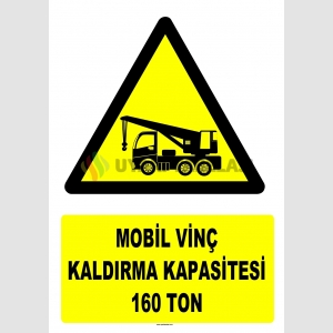 YT7205 - Mobil vinç kaldırma kapasitesi 160 ton