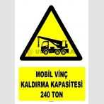 YT7208 - Mobil vinç kaldırma kapasitesi 240 ton