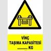 YT7138 - Vinç taşıma kapasitesi ......kg