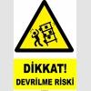 YT7158 - Dikkat devrilme riski