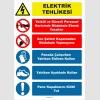 YT7172 - Elektrik tehlikesi talimatı