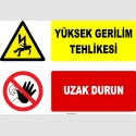 YT7189 - Yüksek Gerilim Tehlikesi, Uzak Durun