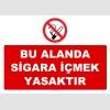 YT7265 - Bu alanda sigara içmek yasaktır