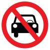 YT7408 - Araç park edemez sembolü levhası