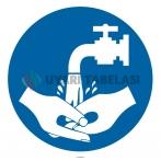 YT7393 - Ellerinizi yıkayın işareti levhası