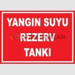YT7431 - Yangın suyu rezerv tankı