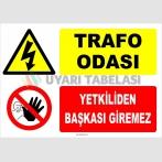 YT7436 - Trafo Odası, Yetkiliden Başkası Giremez