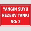 YT7430 - 2 numaralı yangın suyu rezerv tankı