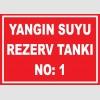 YT7420 - 1 numaralı yangın suyu rezerv tankı