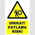 YT7501 - Dikkat patlama riski