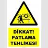 YT7505 - Dikkat patlama tehlikesi (laboratuvar)