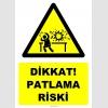 YT7506 - Dikkat patlama riski (laboratuvar)