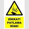 YT7507 - Dikkat patlama riski (genel)