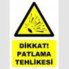 YT7510 - Dikkat patlama tehlikesi (genel)