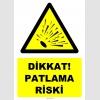 YT7511 - Dikkat patlama riski (genel)