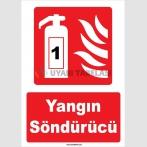 YT7568 - 1 Nolu Yangın Söndürme Cihazı