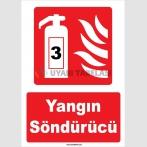 YT7570 - 3 Nolu Yangın Söndürücü