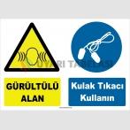 YT7572 - Gürültülü Alan, Kulak Tıkacı Kullanın