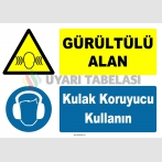 YT7573 - Gürültülü Alan, Kulak Koruyucu Kullanın