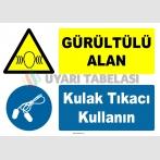 YT7574 - Gürültülü Alan, Kulak Tıkacı Kullanın