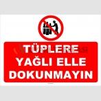YT7599 - Tüplere yağlı elle dokunmayın