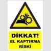 YT7624 - Dikkat el kaptırma riski