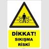 YT7632 - Dikkat sıkışma riski
