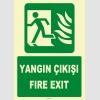 YT7665 - Fosforlu yangın çıkışı/fire exit