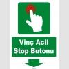 YT7707 - Vinç acil stop butonu