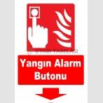 YT7708 - Yangın Alarm Butonu Aşağı Tarafta