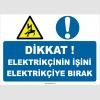 YT7721 - Dikkat, Elektrikçinin işini elektrikçiye bırak