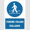 YT7768 - Yürüme Yolunu Kullanın