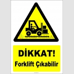 YT7781 - Dikkat Forklift Çıkabilir