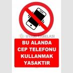 YT7789 - Bu alanda cep telefonu kullanmak yasaktır