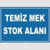 ZY1030 - Temiz MEK Stok Alanı