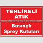 ZY1039 - Tehlikeli Atık Basınçlı Sprey Kutuları