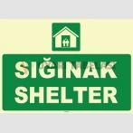 ZY1052 - Türkçe İngilizce Sığınak, Shelter