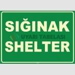 ZY1056 - Türkçe İngilizce Sığınak, Shelter