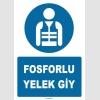 ZY1065 - Fosforlu Yelek Giy