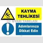 ZY1078 - Kayma tehlikesi, adımlarınıza dikkat edin