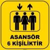 ZY1179 - Asansör 6 Kişiliktir