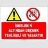 ZY1184 - İskelenin Altından Geçmek Tehlikeli ve Yasaktır