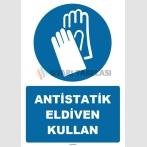 ZY1256 - Antistatik Eldiven Kullan