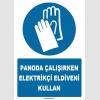 ZY1264 - Panoda Çalışırken Elektrikçi Eldiveni Kullan