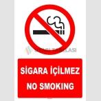 ZY1303 -Türkçe İngilizce  Sigara içilmez - No smoking